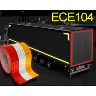 Bande réfléchissante camionette remorque Classe C ECE 104 - 5cm x 50m