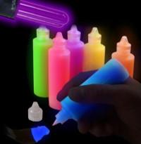 Produits phosphorescents fluorescents et r fl chissants for Peinture fluorescente exterieur