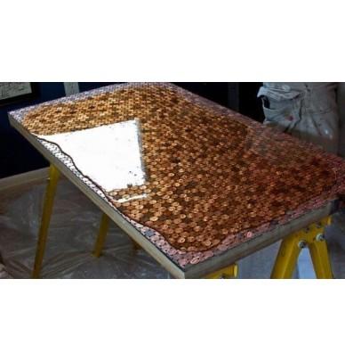 Résine translucide de coulée pour moulage et remplissage