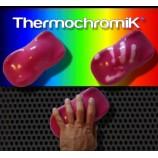 Encre de sérigraphie thermochromique pour tissu et carton