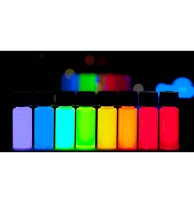 Encre invisible fluorescente réagissant sous UV