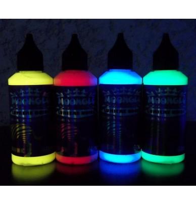 8 Encres fluorescentes invisibles pour la sérigraphie