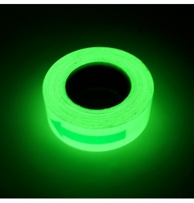 Bande adhésive photoluminescente FLECHE 5cm x 20M