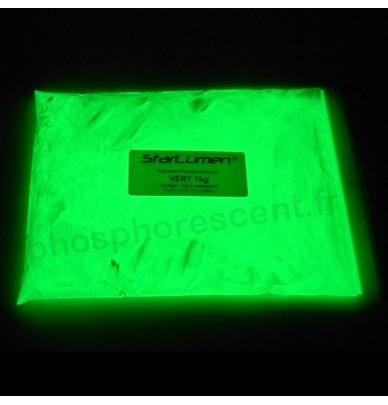 Pigments Photoluminescents 15-35 VERT waterproof 1kg