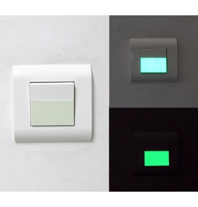 Interrupteur Phosphorescent 6cm x 10 pièces