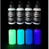 Peinture à l'eau phosphorescente MOONGLO KIT 4 couleurs
