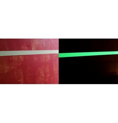 Bande photoluminescente adhésive en aluminium
