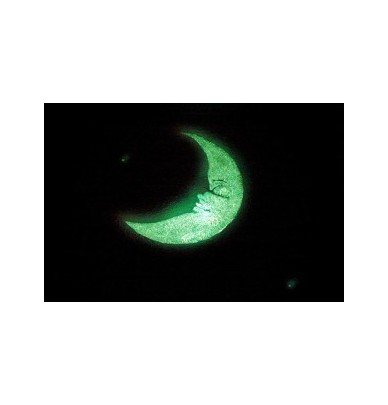 Lune photoluminescente