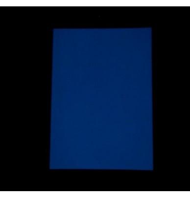 1 Papier photo phosphorescent Bleu
