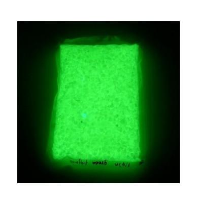 1kg Fragments vert phosphorescent