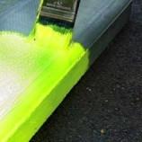 Peinture de marquage fluorescente