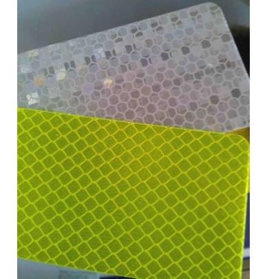 Bande rétro-réfléchissante Jaune fluorescente 5cm x 50m