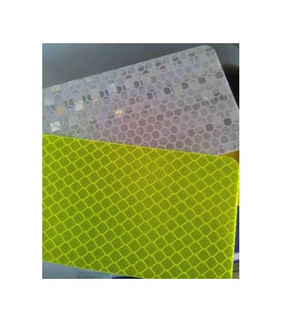 bande r tro r fl chissante jaune fluorescente 5cm x 50m bande reflechissante. Black Bedroom Furniture Sets. Home Design Ideas