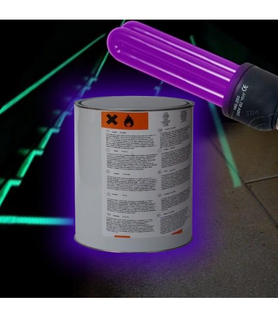 Peinture Fluorescente Ultraviolette Sol Mur Epoxy Peinture