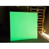 Plaques métalliques photoluminescentes 1m²