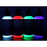 Kit fluorescent invisible 4 couleurs speciales