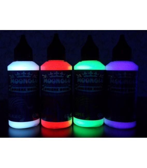 Lumieres noires peinture blacklight for Peinture fluorescente exterieur