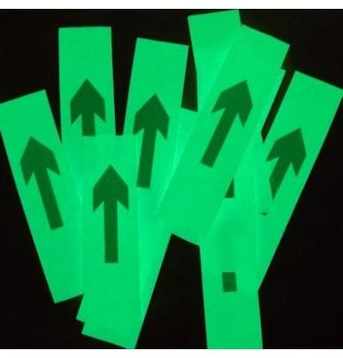Flèches photoluminescentes adhésives en vrac
