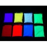 Pigments Fluorescents UV 1Kg sous ultraviolets