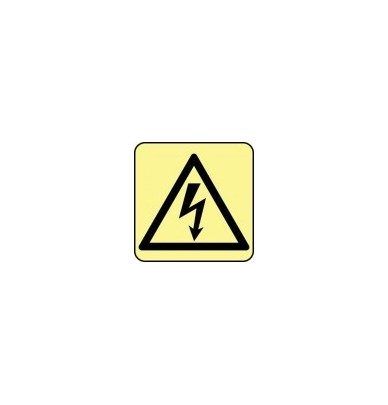 Signes imprimés sur Panneaux ou adhesifs photoluminescents