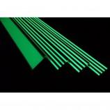 Nez de Marche photoluminescent en aluminium 1m