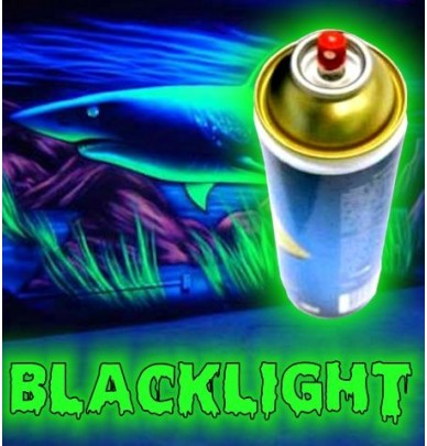 PEINTURE BLACKLIGHT EN SPRAY