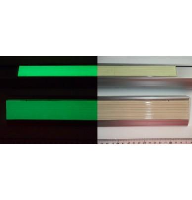 Bande antidérapante photoluminescente caoutchouc