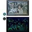 "Papyrus phosphorescents ""collection Egypte ancienne"" - 10 fresques"