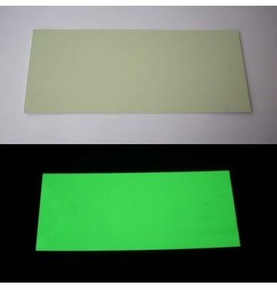 Panneaux PVC photoluminescent 35 x 15 x 0.1mm