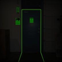 Adhésifs photoluminescents