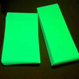 PVC Métal alu phosphorescent