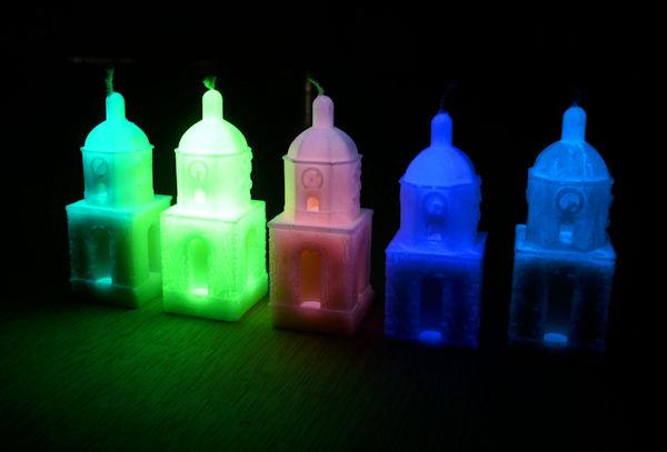 Gamme de Bougies Phosphorescentes