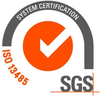 produit testé et certifié par SGS