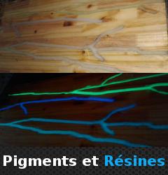 Pigments et Résines